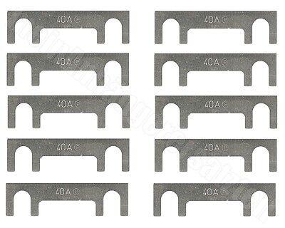 5x Kfz-Sicherungen Streifensicherungen Blattsicherungen 40A 40 Ampere />/> U /</<