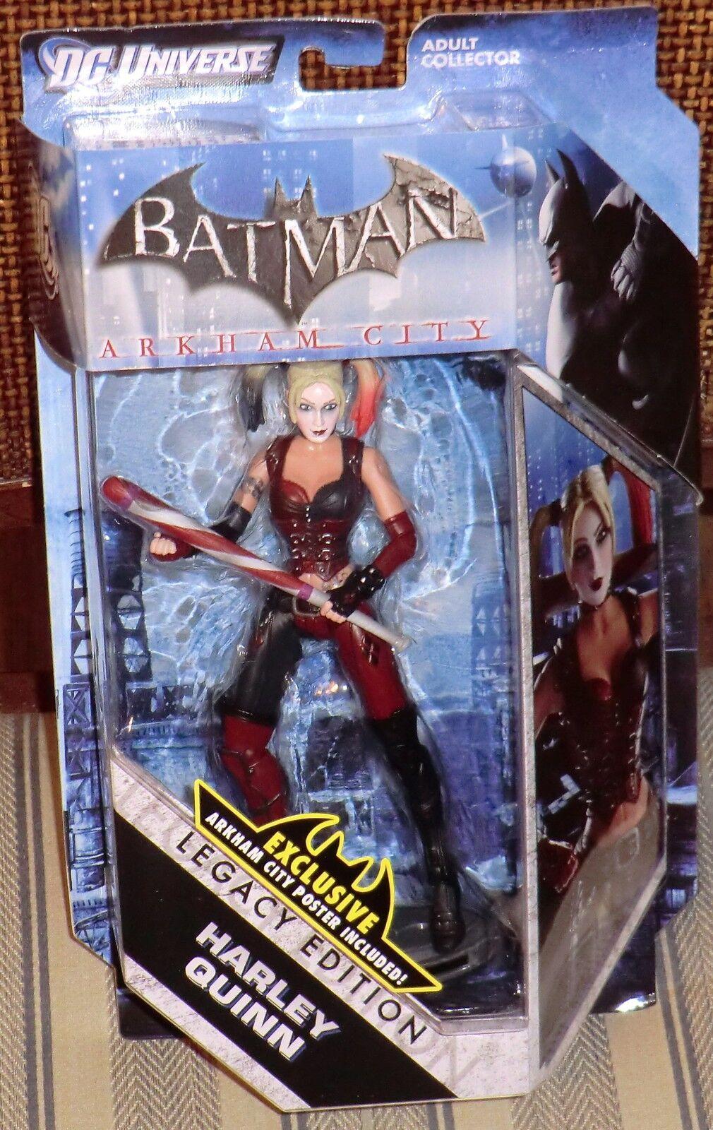 DC UNIVERSE  HARLEY QUINN   BATMAN LEGACY  MOC