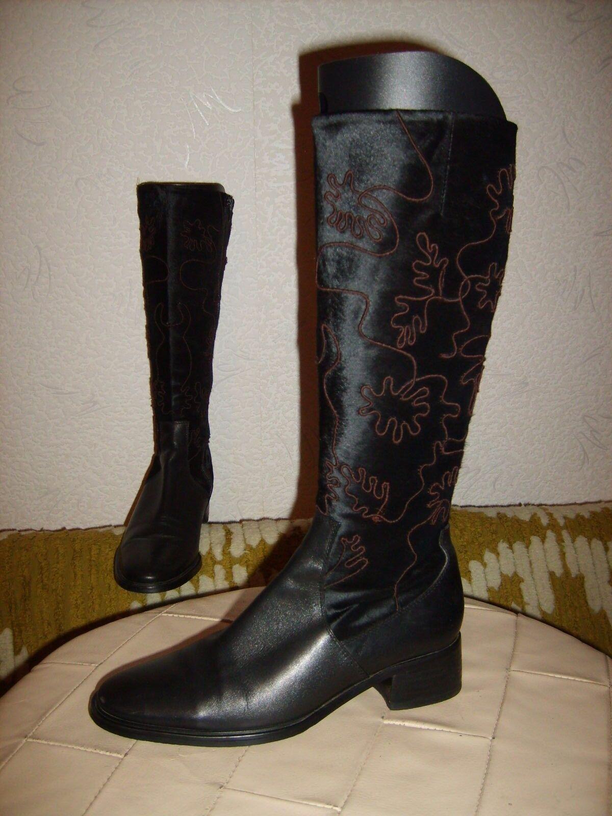 CARLO PAZOLINI® extravagante Damen Stiefeletten Schuhe Damen Stiefel Schwarz