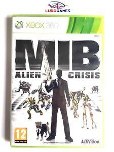 Men-In-Black-MIB-Alien-Crisis-XBOX-360-Retro-PAL-SPA-Nuevo-Precintado-Sealed