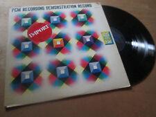 PCM RECORDING VARIOUS BAND SOUNDS EFFECT - JAPAN DENON Lp 1974