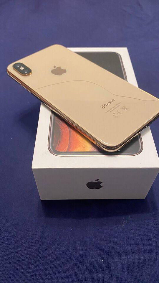 iPhone XS, 64 GB, guld