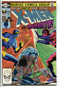 Uncanny-X-Men-150-Marvel-1981-NM-Wolverine-Magneto-Colossus-Storm-Cyclops