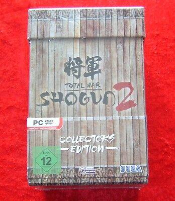 Total War Shogun 2 Collector´s Edition, PC Spiel, Neu, deutsche Version