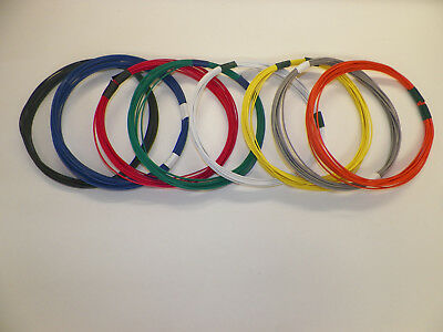 16 GXL 11 SOLID COLORS 10 FEET EACH 110 FEET TOTAL HIGH TEMP AUTOMOTIVE WIRE