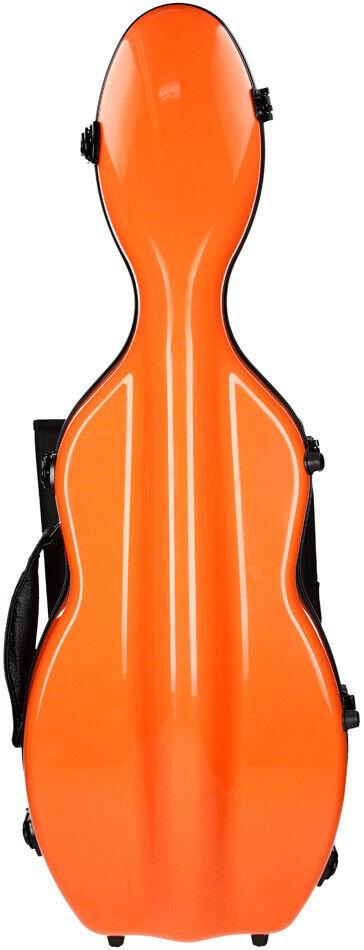 USA Fiberglass violin case UltraLight 4 4 M-case Orange Light