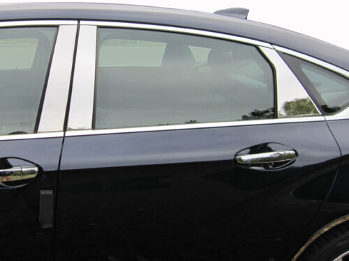 Fits Chevy Impala 14-18 QAA Stainless Chrome Polished Pillar Posts 6PCS PP54136