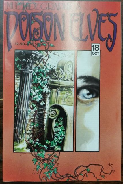 Poison Elves #18 Mulehide Graphics Comic Drew Hayes Vol 1 1994  NM