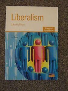 PréVenant Libéralisme-advanced Sujet Master Par John Hoffman, Eric Magee (paperback, 2006)-afficher Le Titre D'origine Diversifié Dans L'Emballage