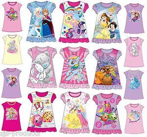 Scooby Doo Girls Nightdress Nightie 2 to 8 Years