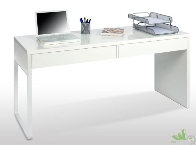 Cassettiera Per Scrivania Ikea.Ikea Micke Scrivania Bianca Con 2 Cassetti 142x50 Cm Acquisti