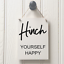 MRS HINCH HOUSE CLEANING SIGN FUN HINCH YOURSELF HAPPY SIGN NEW HOME