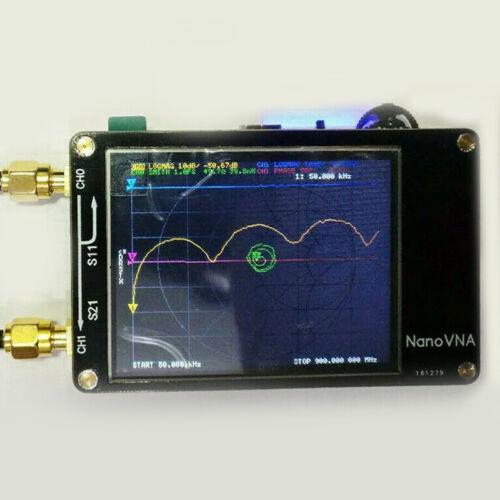 50KHz-900MHz Vector Network Analyzer Nano Vna HF Vhf Uhf Antenne Analyse Neu