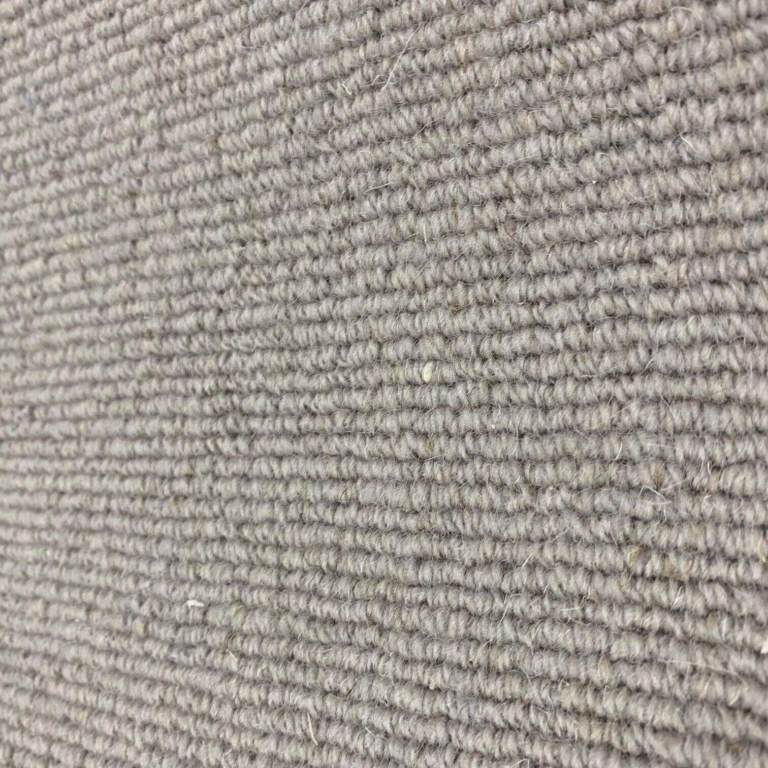 Berber Alfombra remanente Rollo Final en Bucle de lana beige Sauce Costilla Pila 5x5m 38% De Descuento