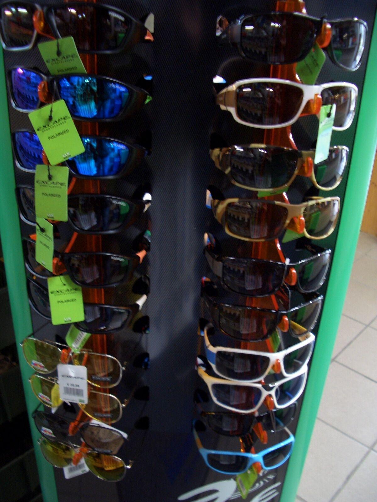 Profi Polarisationsbrille SP-126-BOP Excape SP-126-BOP Polarisationsbrille Polbrille Brille UV 500 715831