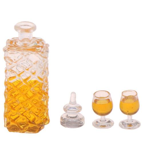 Dollhouse accessories  miniature model props simulation wine bottle combinat~YNS