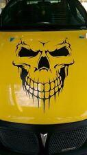 "Skull Hood Decal 24"" vinyl large Graphic sticker Car Truck Boat tailgate window"