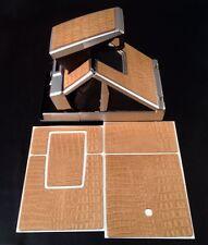 Polaroid SX-70 PolaSkinz HornBack Tan Napa Cowhide Replacement Skinz SLR680