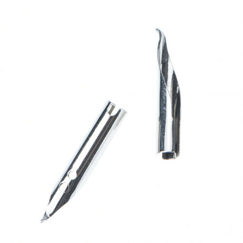 1pc x911 silver fountain pen curved tip diy for jinhao WH