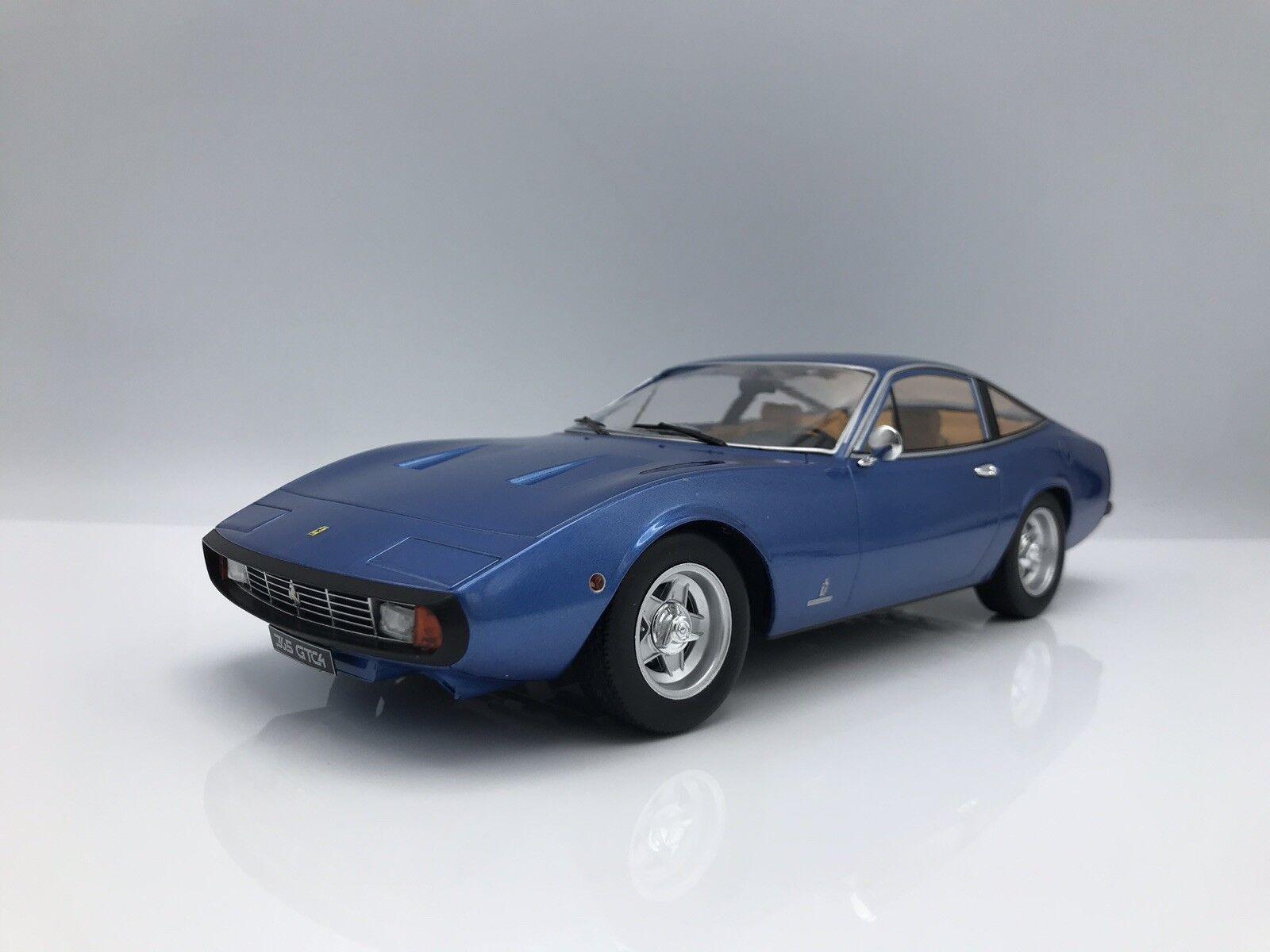 el mas reciente Ferrari 365 GTC 4 1971 metallic-azul 1 18 KK-scale KK-scale KK-scale new    entrega rápida