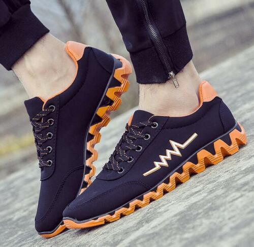 New Fashion Men's Sports Shoes Sneakers Running Breathable Casual Athletic Shoes free shipping