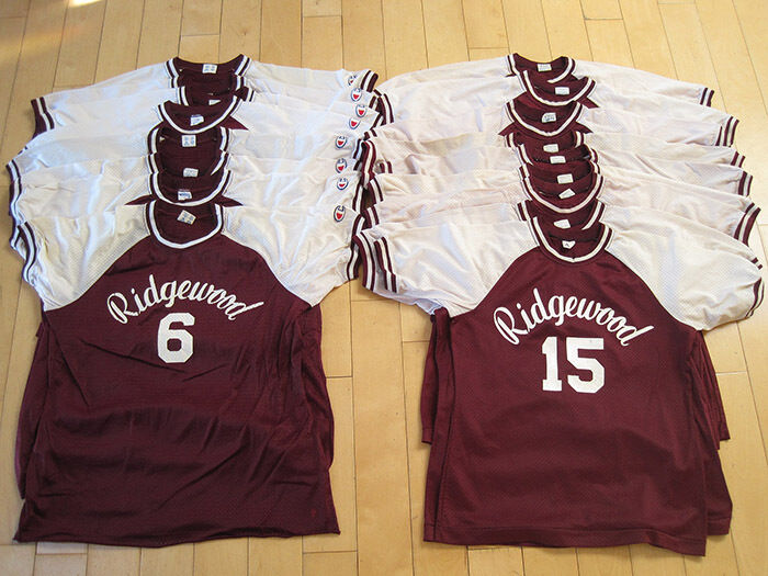HUGE LOT  70s vtg RIDGEWOOD NEW JERSEY Damenss Damenss JERSEY BASEBALL 17 jerseys CHAMPION shirt 283f62