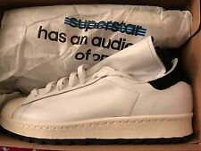 Adidas hombres Superstar 80s Remastered negro / CORE negro / blanco s82511 10