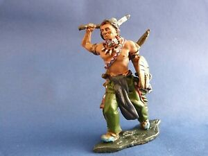 Indien-Chef-Indien-Morning-Star-Far-West-Hobby-amp-Work-Lead-soldier-Neuf