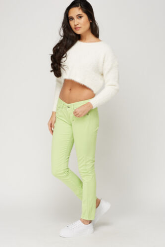 Womens lime green skinny leg jeans from Pepe Jeans rrp £85 new