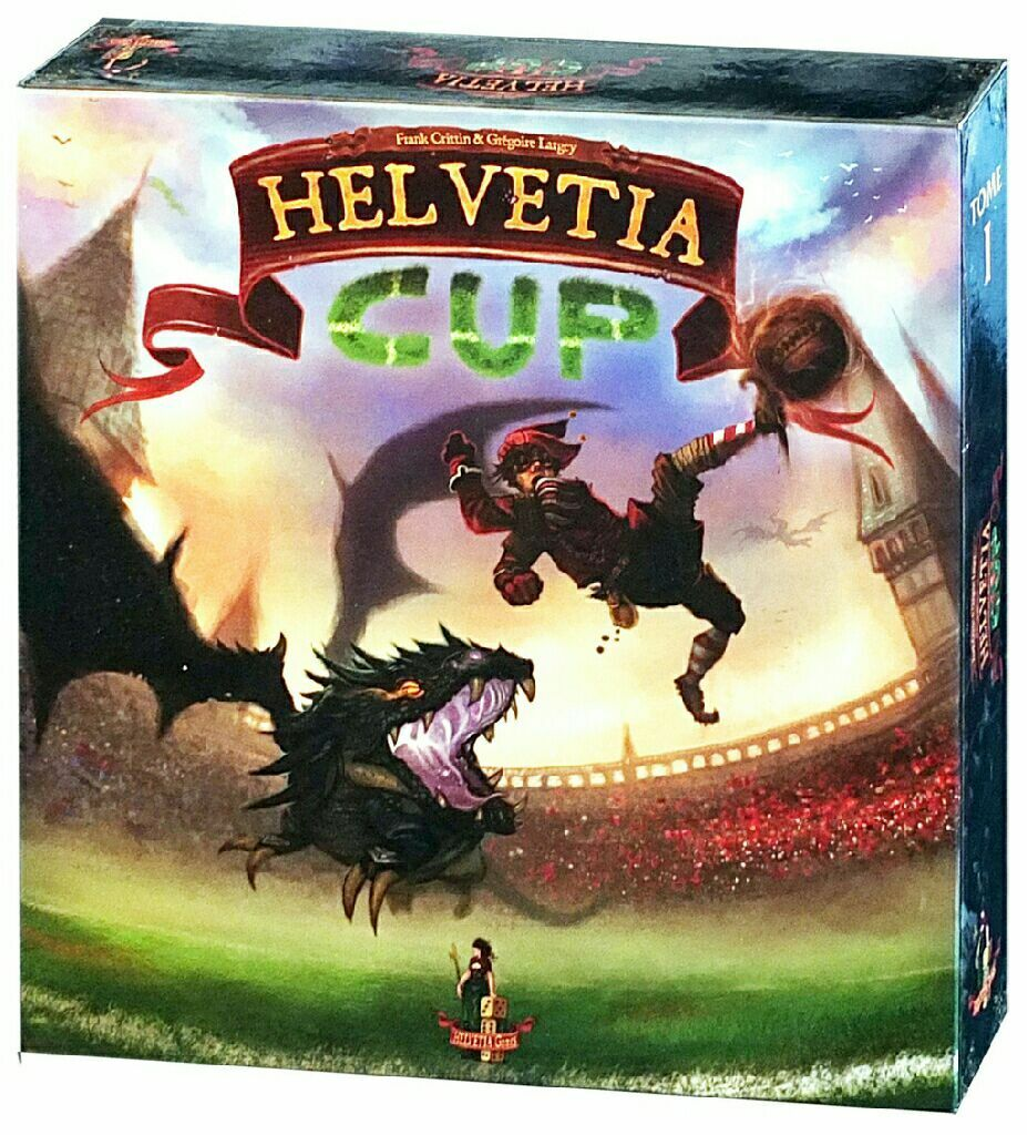 Helvetia Cup Board Game - Asmodee - Factory Sealed - Free Shipping