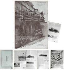 Ferrovia_ FS _ treni TECNICA PROFESSIONALE 1934 n.5  studi x per.le Ferroviario