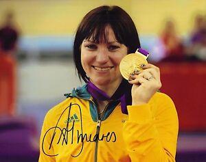 Anna Meares SIGNED 10X8 PHOTO LONDON 2012 OLYMPICS AFTAL COA (D)