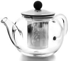 Teekanne de vidrio 600 ml tetera de cristal agua Glass Teapot with filtro theiere