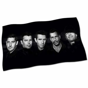 New-Kids-On-The-Block-Flag-Banner-28-034-NEW-Step-By-NKOTB-Tonight-Fabric-Poster