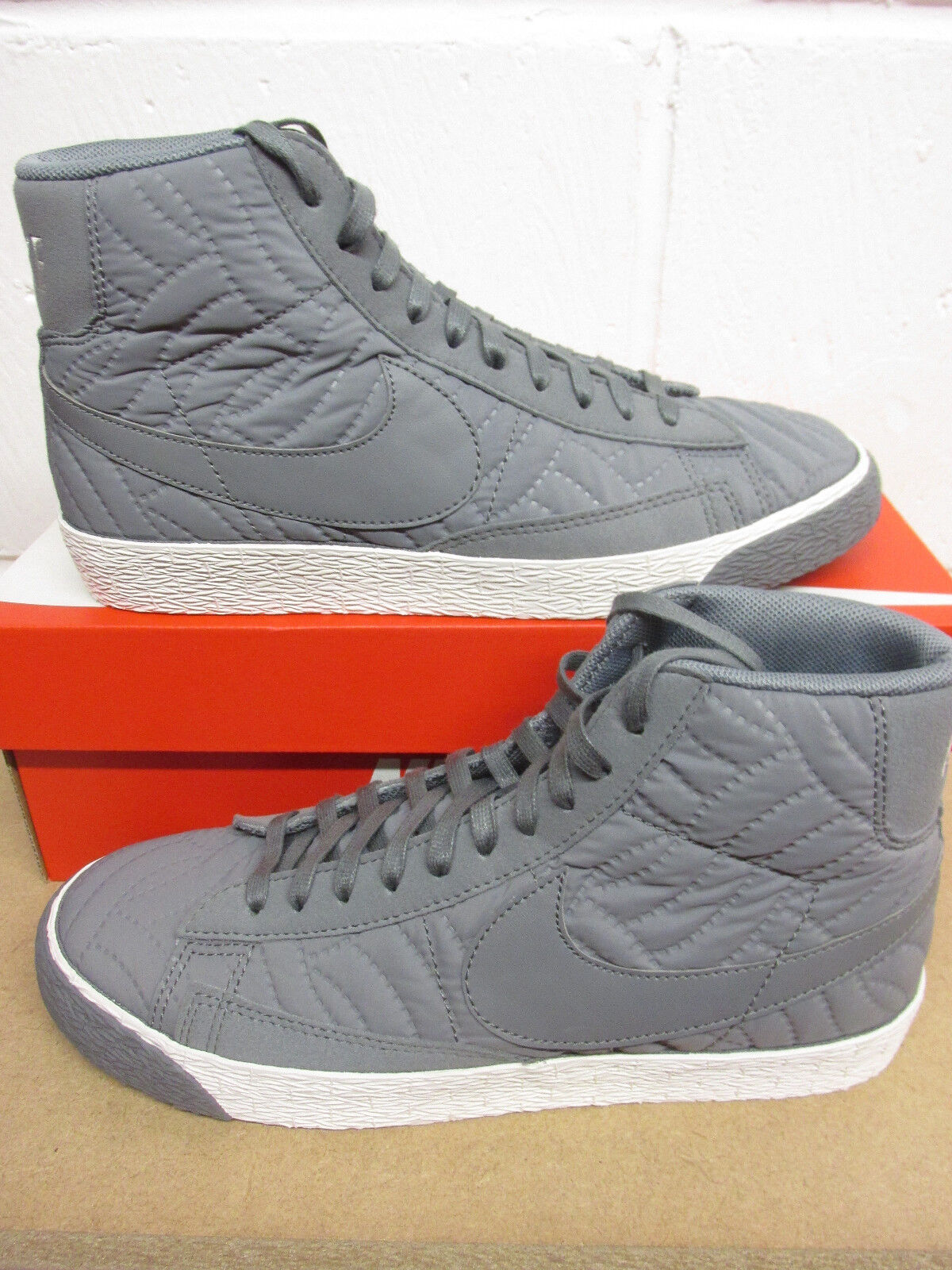Nike Womens Blazer Mid PRM SE Hi Top Trainers 857664 857664 857664 002 Sneakers shoes ec8622