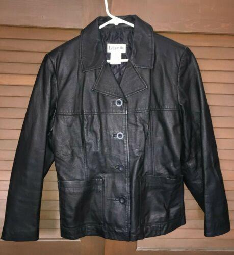 Bagatelle Leather Black Jacket Misses Medium