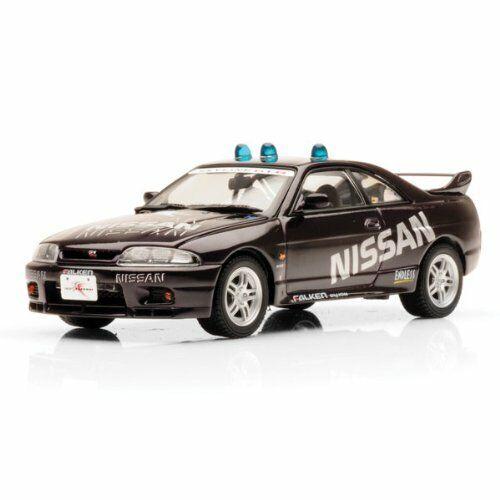 KYOSHO 143 Nissan cieloline GTR R33 Fuji RITMO AUTO Mezzanotte viola Diecast Auto