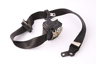 BMW X5 Series E53 Seat Seatbelt Seat Belt Rear Right O//S Schwarz Black 7051508