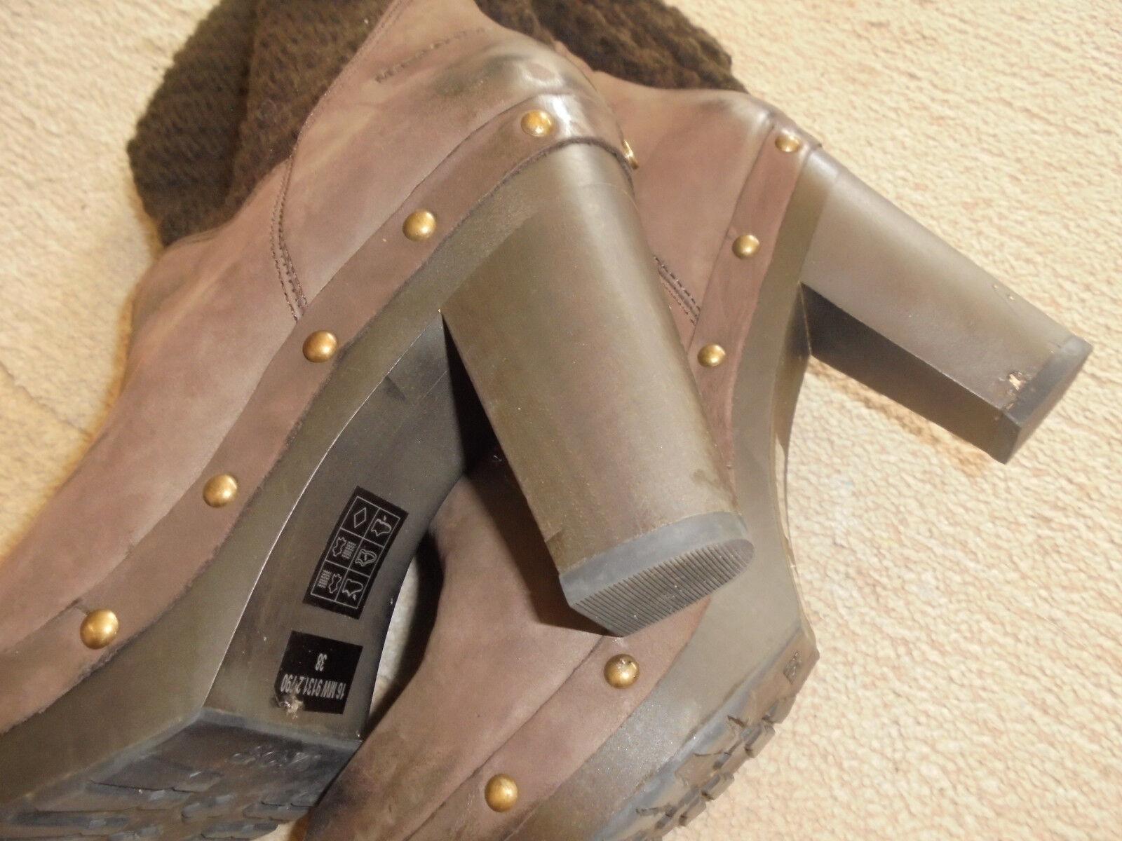 Marc o Polo MOP Damen Stiefel Boots Freizeit NP Nubuk Gr 37 38 NP Freizeit 180 Euro 2ac5c8
