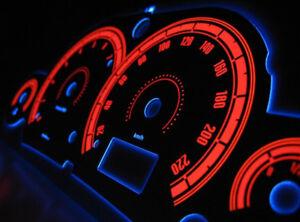 ford focus mk1 glow gauges dials plasma dial kit tacho. Black Bedroom Furniture Sets. Home Design Ideas