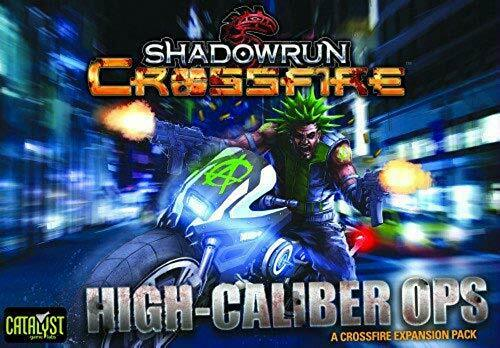 Catalyst Jeu Labs Shadowrun Crossfire Mission 1 Haute Caliber Ops Jeu