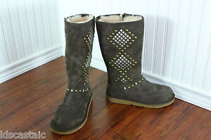 New Womens Ugg Avondale Chocolate Brown All Sizes Studded