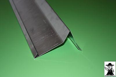 Fürs Dach Ortgang Ortgangblech Ortblech Dach Dachblech Alu Aluminium 2m Lang 0,8 Mm Stark Heimwerker
