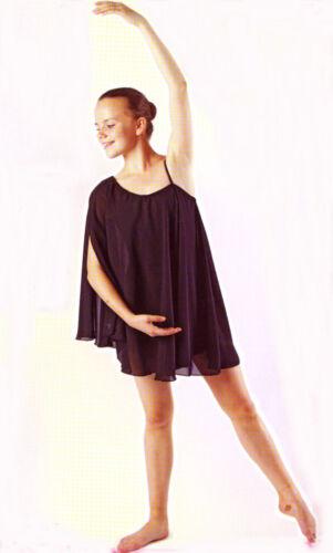 TO ORDER Beautiful Lyrical Greek Chiffon Dance Costume All Sizes