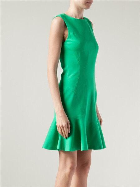 DVF Diane von  Furstenberg Jaelyn  Grün Dress US 12 UK sz  16 NWT