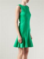 DVF Diane von  Furstenberg Jaelyn  Green Dress US 12 UK sz  16 NWT $425