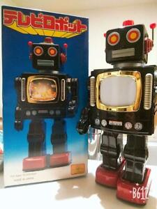ROBOT-TOY-FIGURE-VINTAGE-JAPAN-RARE-COLLECTIBLE-JAPANESE-F-S-MADE-IN-JAPAN