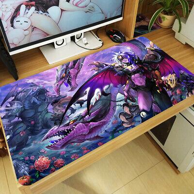 Yu-Gi-Oh Large Mouse Pad Anime Desk Mat DIY Gaming Playmat Keyboard Mat 70x30cm