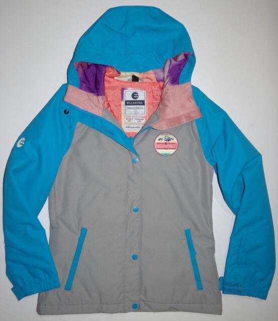 Billabong Womens Old School 8KMM8KG Ski Snowboard Jacket Small $155