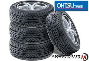 4 Falken @ Ohtsu FP7000 215/55R17 94V All Season Traction High Performance Tires